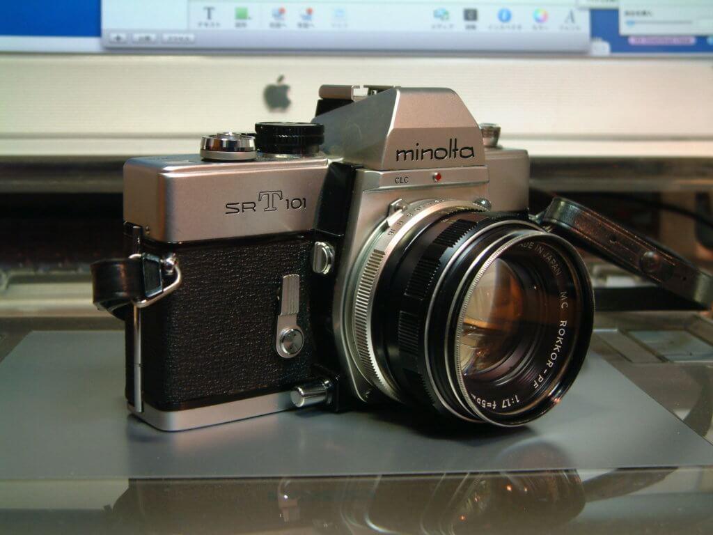 カメラ ミノルタ SR-T101 フィルムカメラ